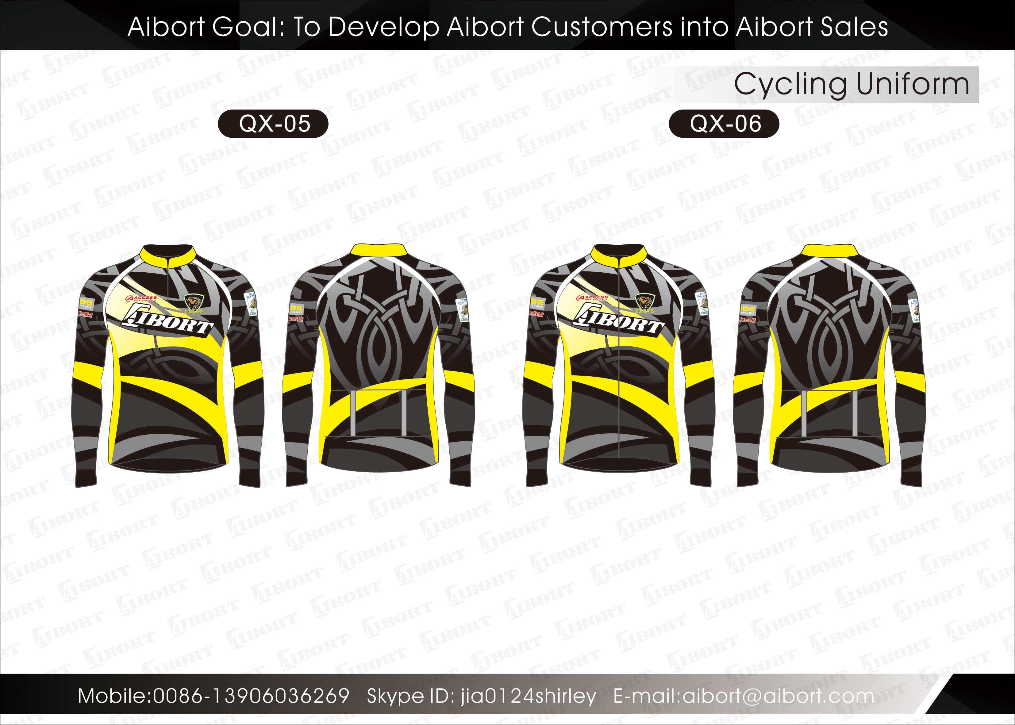 Op Maat Gemaakte : Aangepaste volledig op maat gemaakte fietskleding op maat aibort